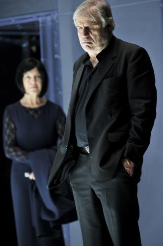Angela Winkler (Ella Rentheim) und Josef Bierbichler (Borkmann). Vorabfoto © Arno Declair.JPG