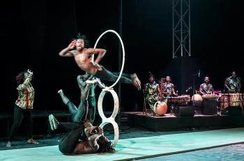 cirque,musée du quai branly,guinée